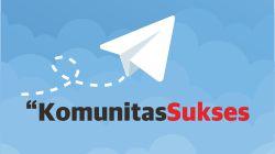 Join Telegram Komunitas Sukses